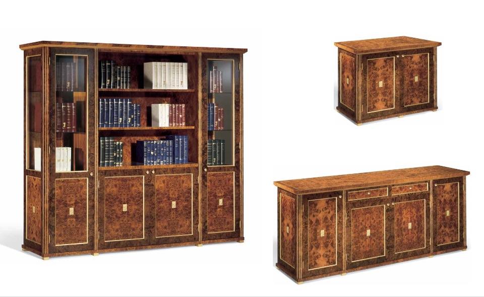 Библиотека, Тумбы – Кабинет премиум класса Horus Elledue
