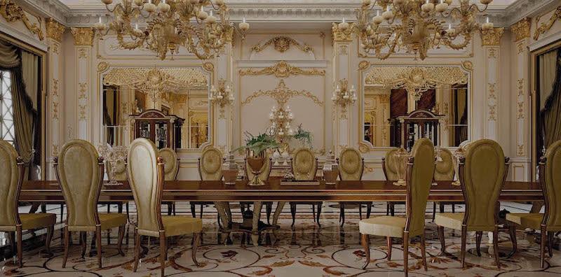 Элитная мебель в классическом стиле Turri