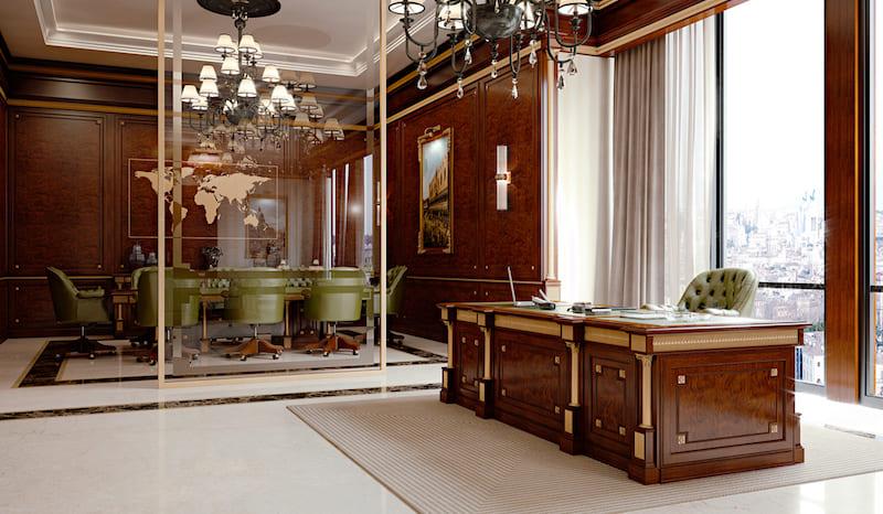 Дизайн интерьера кабинета Elledue