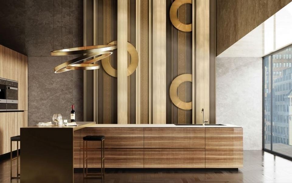 Дизайн интерьера кухни Alchymia