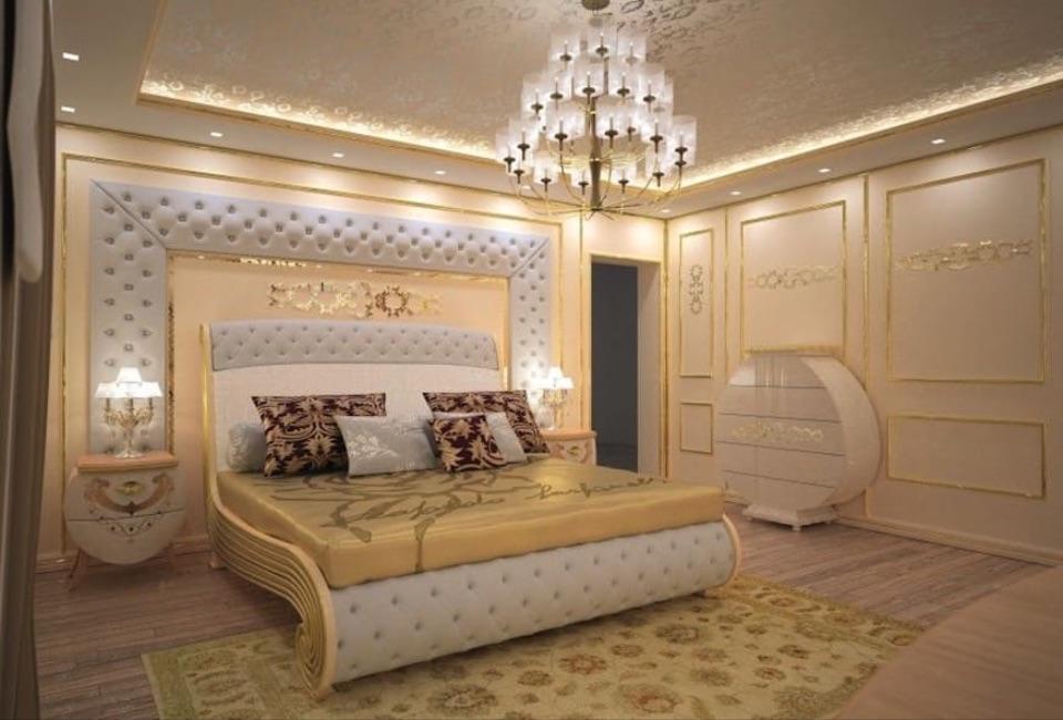 Интерьер спальни Carpanelli