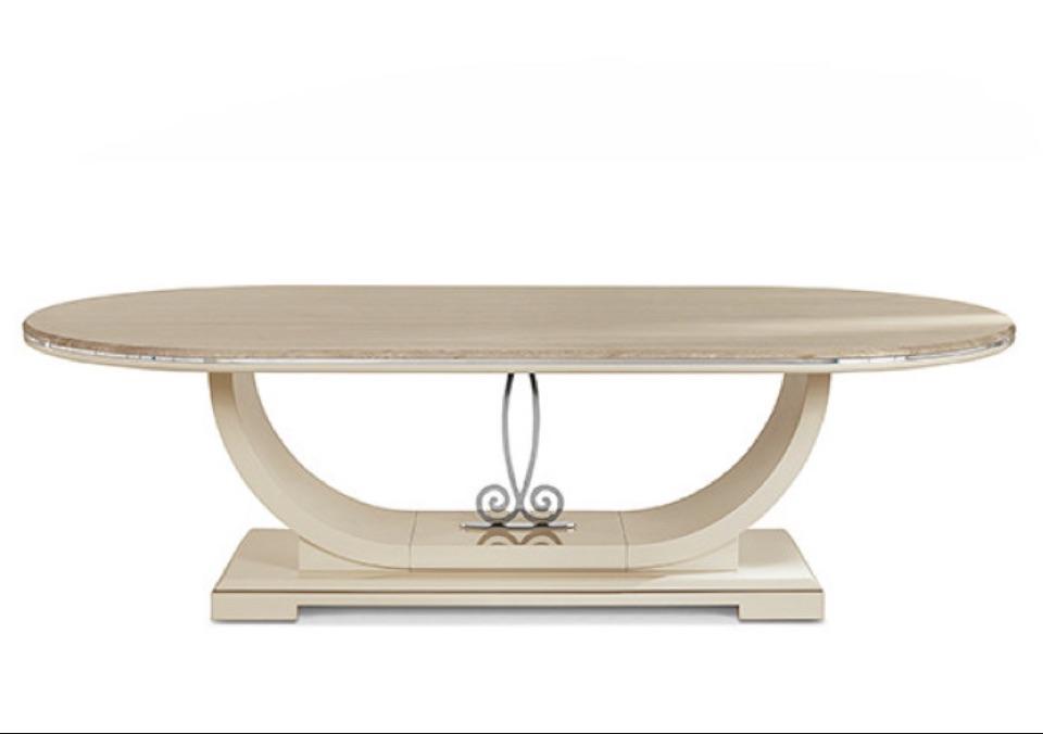 Обеденный стол овальный T5050 Zanaboni