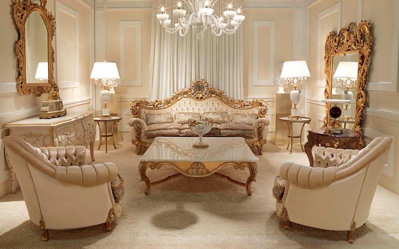Элитная мебель в классическом стиле Zanaboni