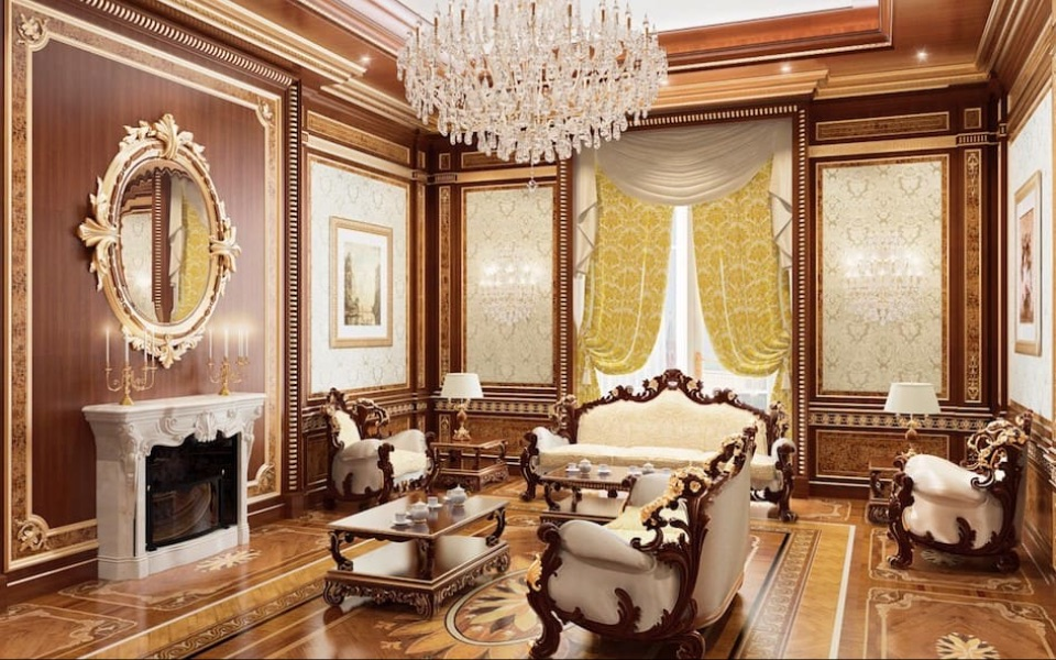 Интерьер гостиной Fratelli Radice