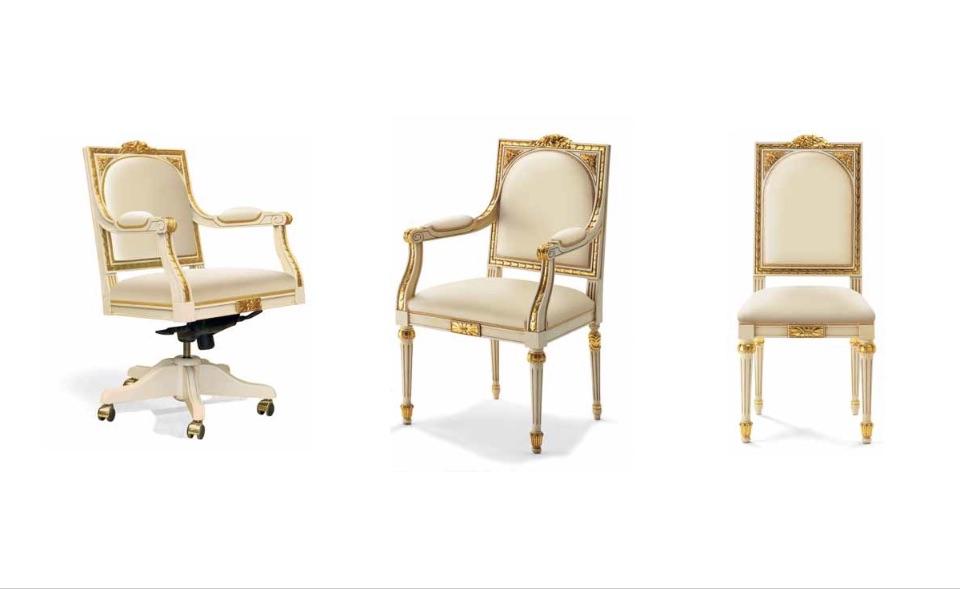 Кресло руководителя, посетителей – Кабинет премиум класса Maria Antonietta Elledue