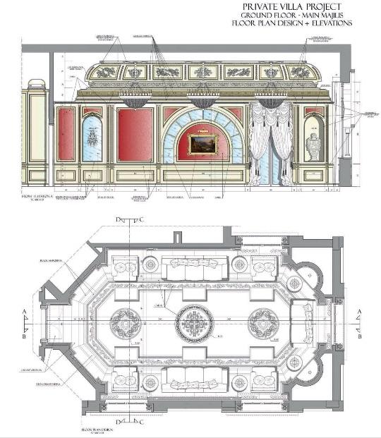 Дизайн интерьеров Zanaboni