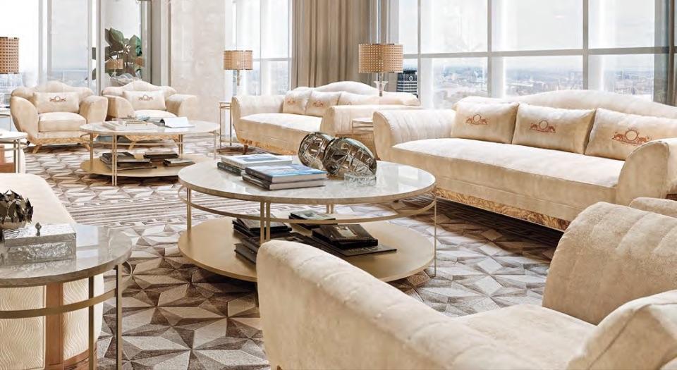 Гостиная Irina - Neoclassico Collection от Keoma Italy