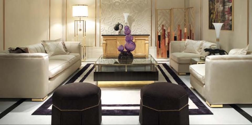 Интерьер гостиной Magritte Zanaboni
