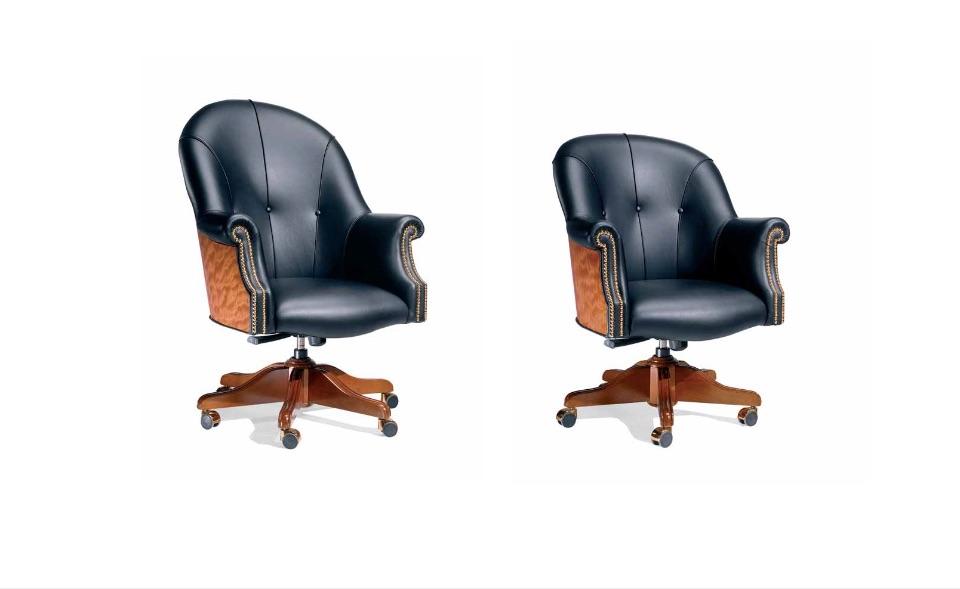 Кресло руководителя, посетителей Osiride – Кабинет премиум класса Kingdom Elledue