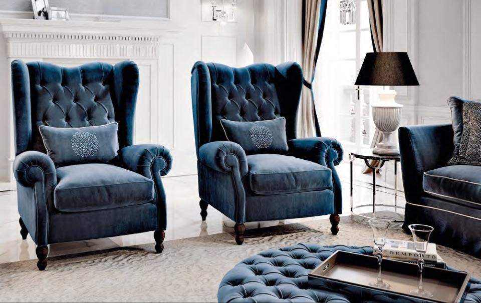 Кресла Bergere - Neoclassico Collection от Keoma Italy