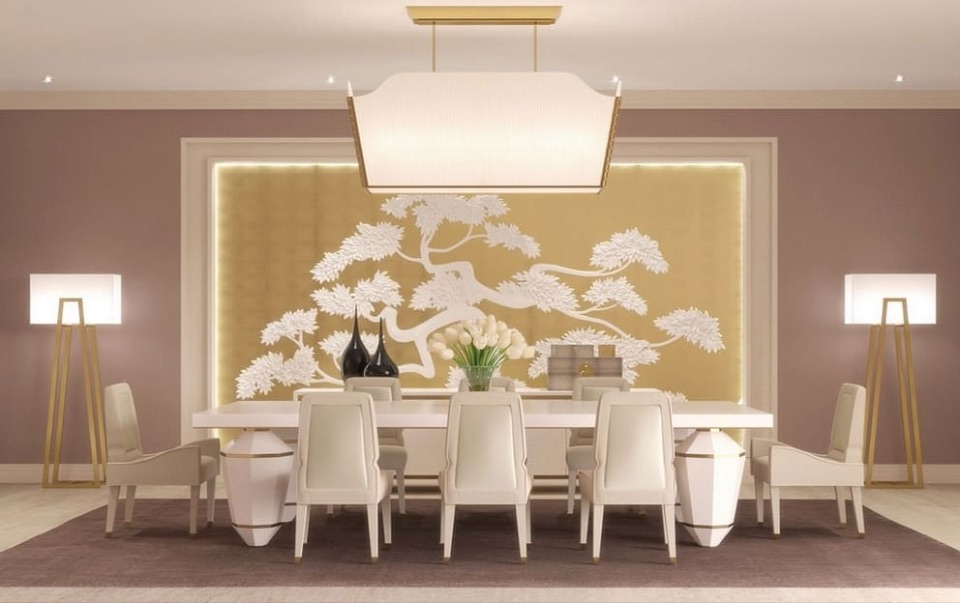 Дизайн интерьера столовой Alchymia