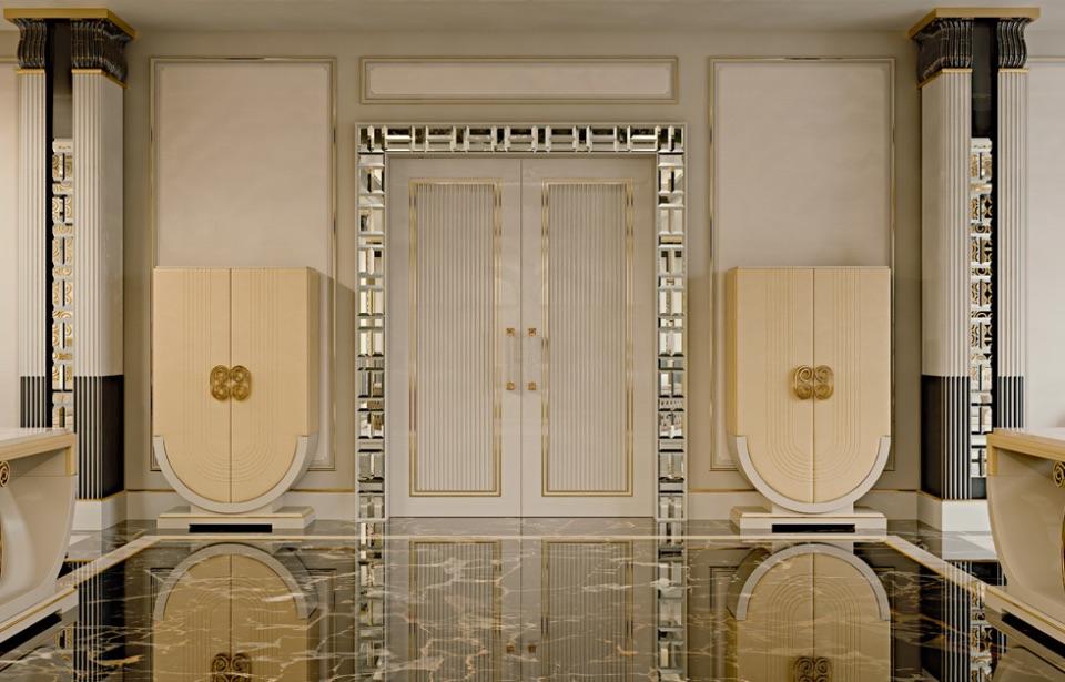 Дизайн интерьера пентхауса Zanaboni