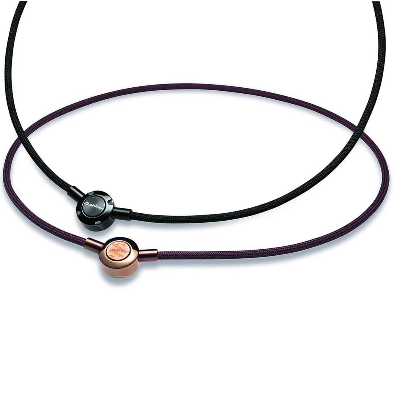 картинка Ожерелье Phiten METAX PUSH TYPE коричневое X100 от магазина Phiten
