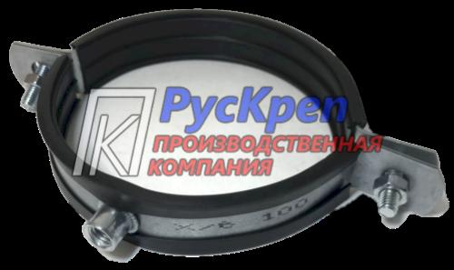 Хомут для вентиляции с резиновым профилем - ПК РусКреп