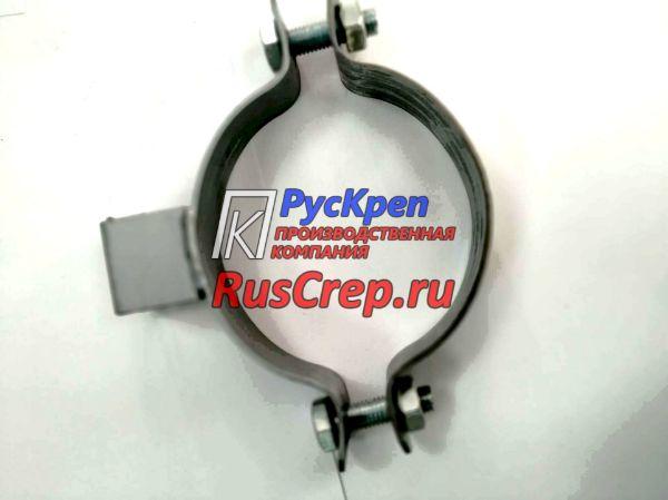 Хомут высокой нагрузки с отверстием в П-обр. подвесе без резинового уплотнителя EPDM 2