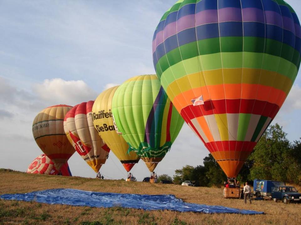 Фестиваль воздухоплавания КМВ
