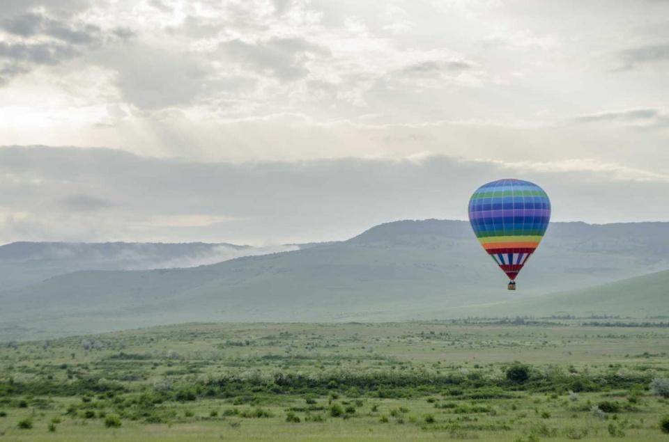 Полёты на воздушном шаре с корзиной круглый год Ставрополь