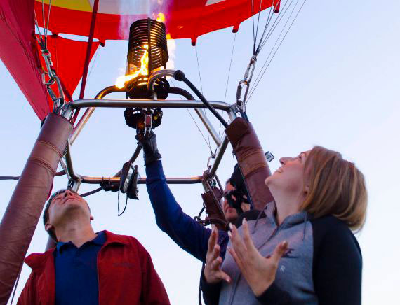 Безопасность полётов на воздушном шаре