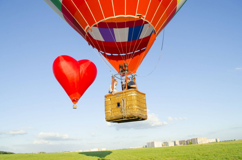 Полёты на воздушном шаре сердце Ставрополь Ставропольский край