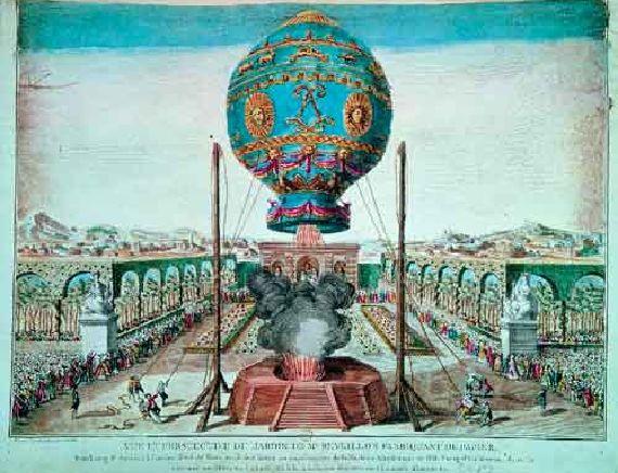 Почему воздушный шар с корзиной летает