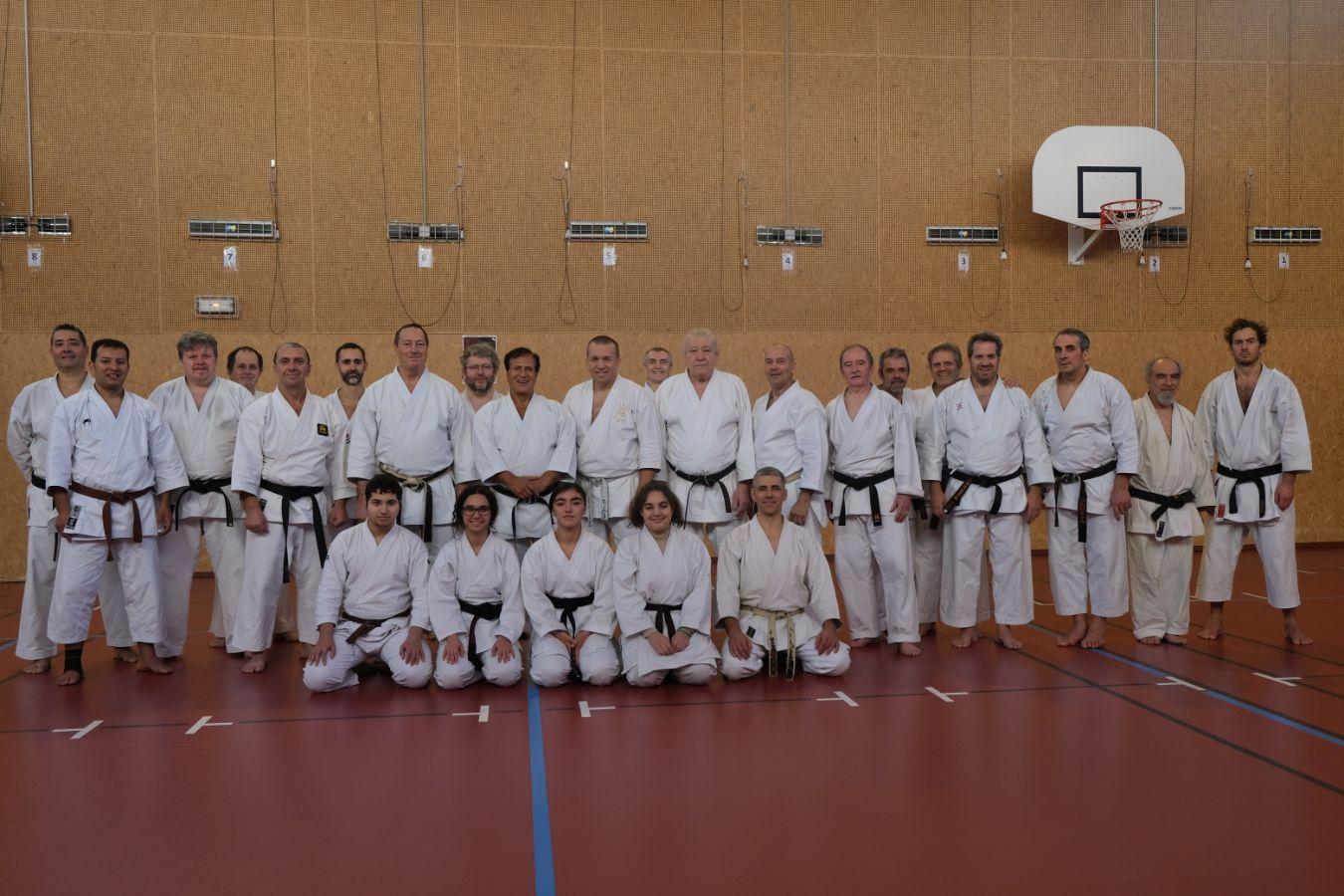 23-24 ноября 2019 года в городе Париж ( Франция)  состоялся II курс Всемирной академии каратэ-до Шотокан-Рю Казэ-Ха под руководством Альберта Боутбоул 9 дан IKS KASE HA WF.