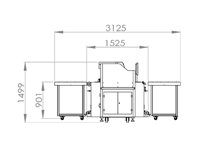 Приставные столы гибридного уф принтера sprinter powerpro 3200
