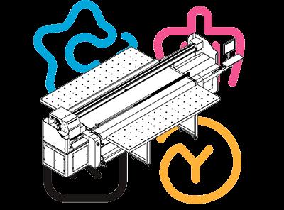 Гибридный УФ-принтер Sprinter PowerPro 3200