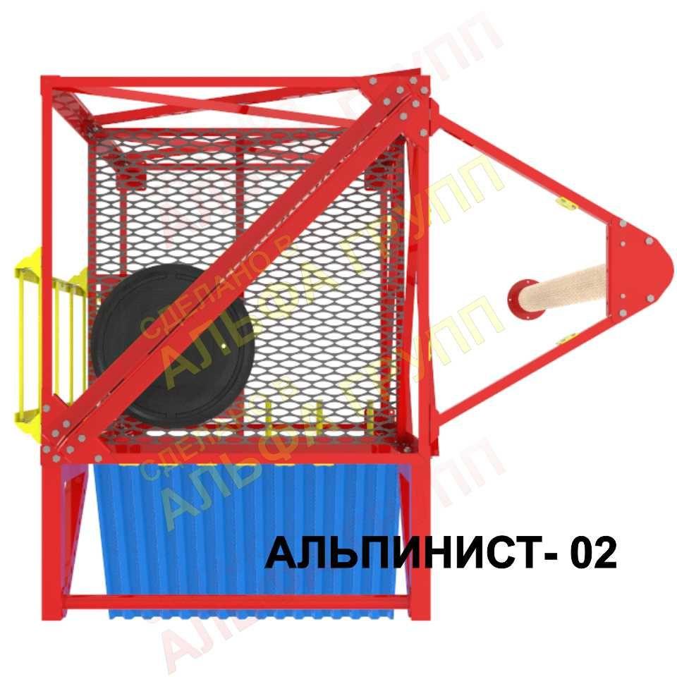 Учебно тренировочный стенд (комплекс) АЛЬПИНИСТ-02