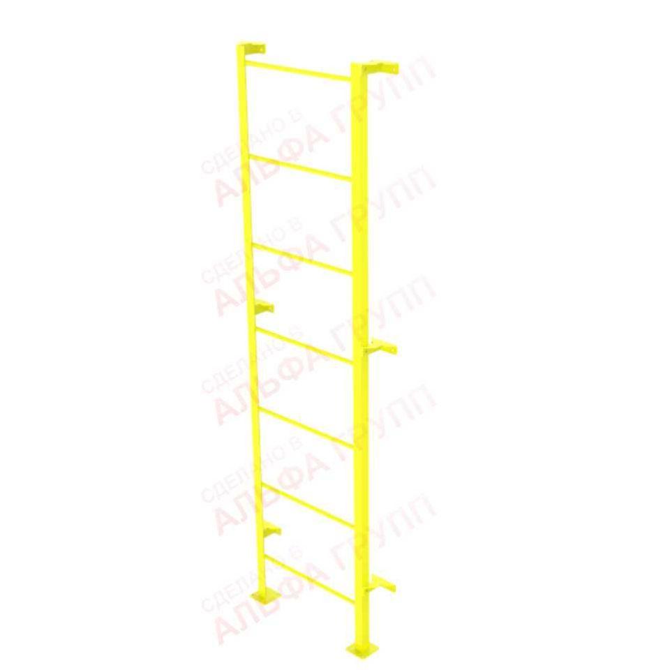 Боковая лестница для тренировочного стенда, возможно установка по периметру стенда.