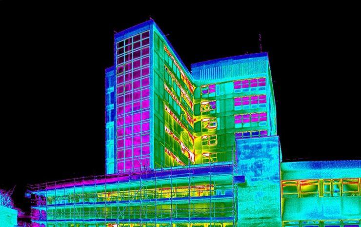 тепловизионное обследование зданий. тепловизионное обследование сооружений. Тепловизионное обследование строений