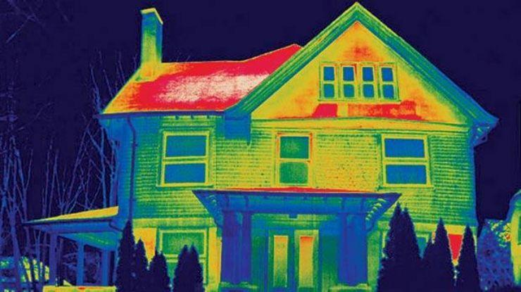 тепловизионное обследование дома. тепловизионное обследование квартиры. Тепловизионное обследование коттеджа