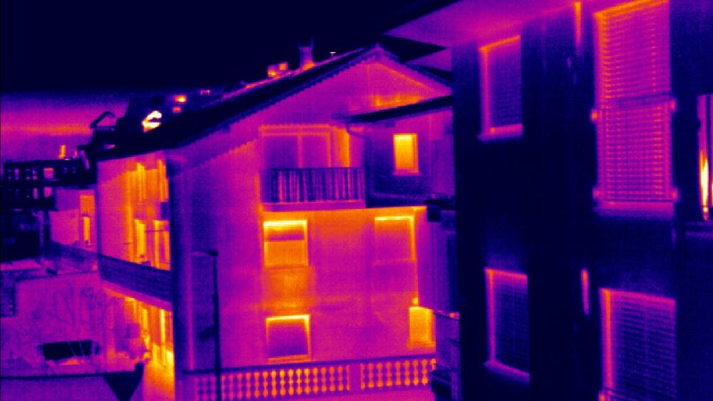 тепловизионное обследование - условия проведения