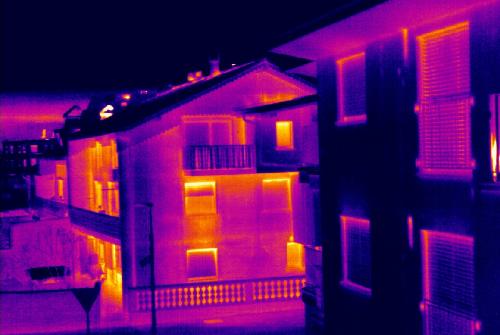 Условия для проведения тепловизионного обследования