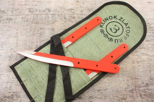 Школа метания ножей - Выиграй набор метательных ножей