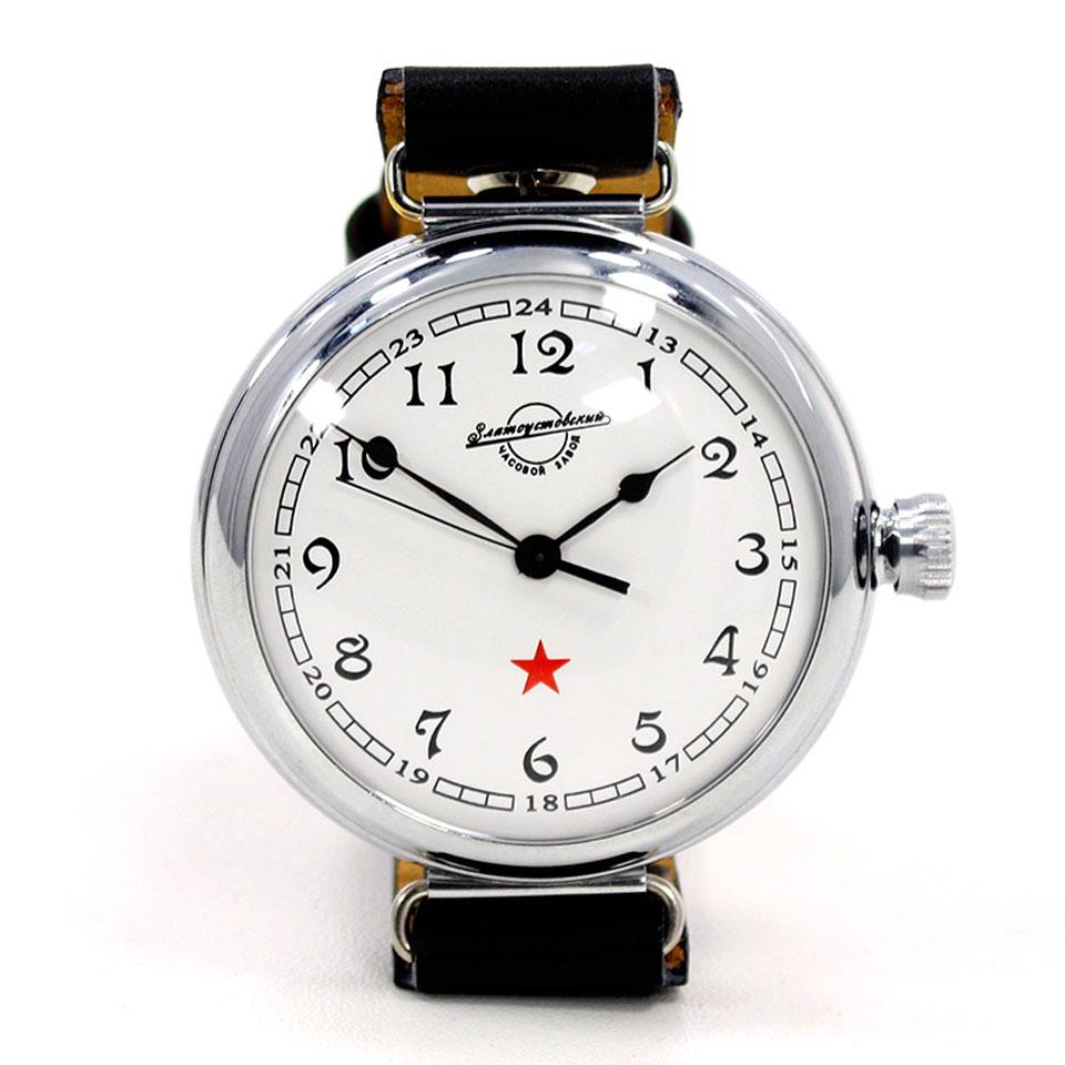 Командирские часы со звездой