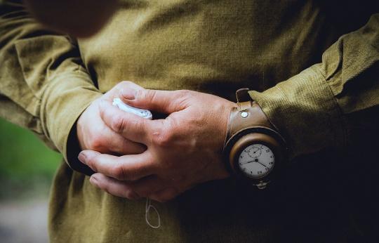 Командирские часы образца времен СССР