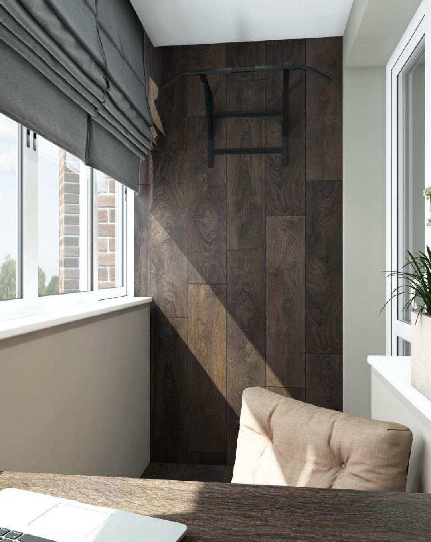 Балкон в кабинете