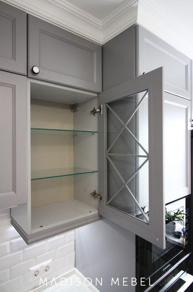 кухня с витринами