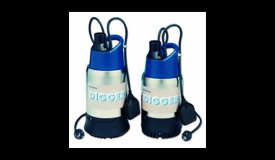 DIGGER погружные насосы для загрязненной воды