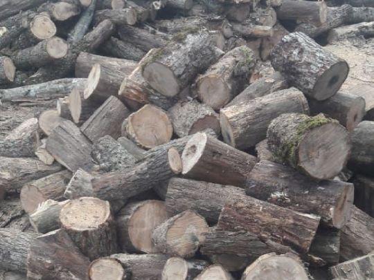 дрова чурками