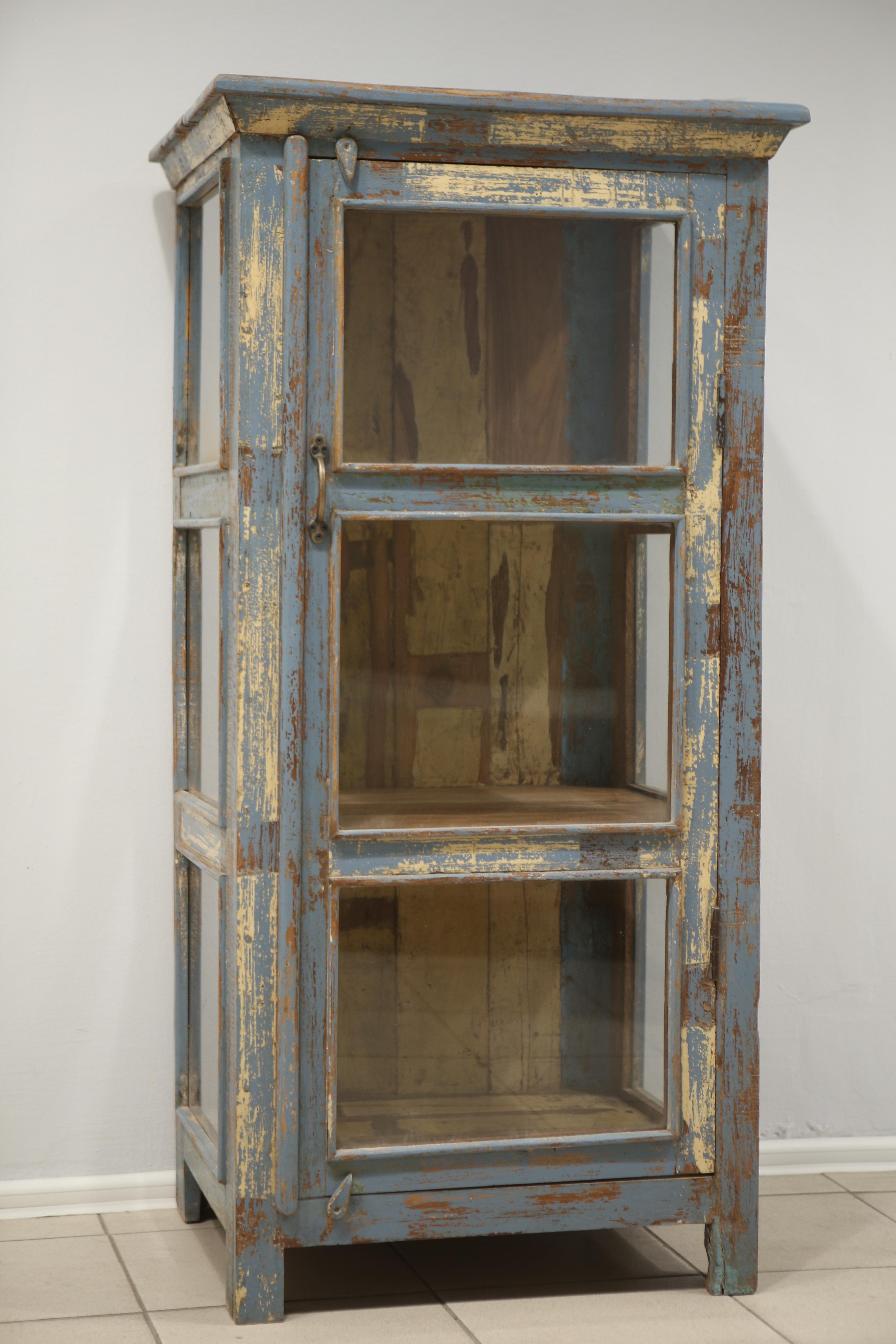 """картинка Шкаф со стеклом MR1 от магазина """"Бохо-Деко"""""""