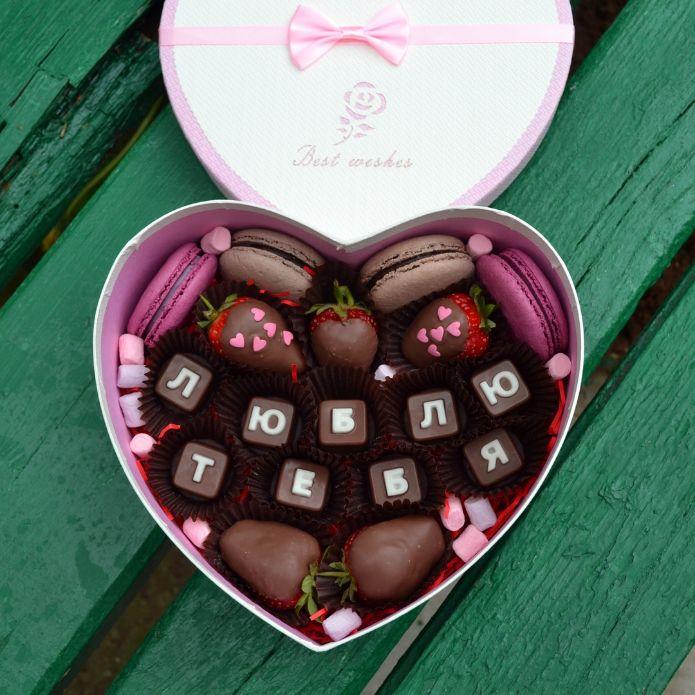 Клубника в шоколаде Пермь