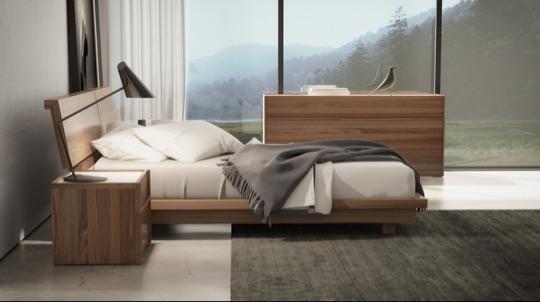 купить интерьерную кровать