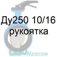 затвор поворотный Ду250 Ру16