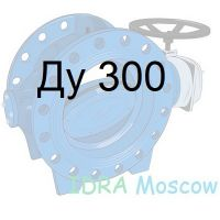 затвор поворотный дисковый фланцевый Ду 300