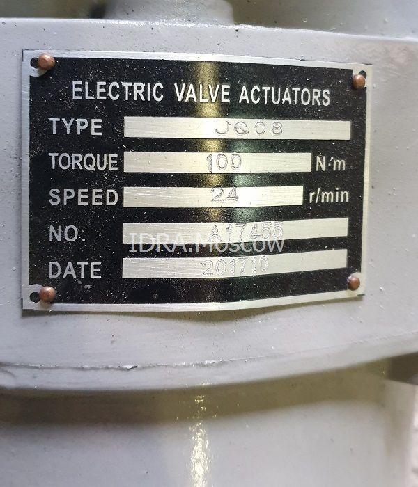 электропривод задвижек затворов