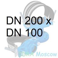 фланцевая седелка 200 х 100