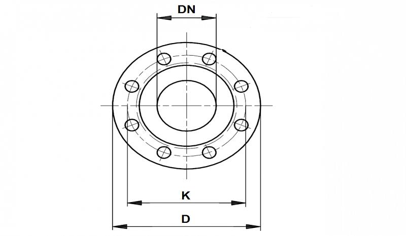 UR-51 DN фланца