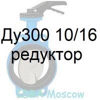 затвор поворотный Ду300 Ру10/16