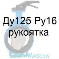 затвор поворотный Ду125 Ру16